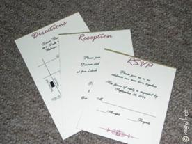 the diy pocketfold invitations how to